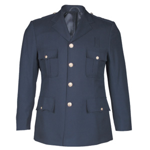 100% Polyester Single Breasted Class A Dress Coat - DEPUTY CHIEF