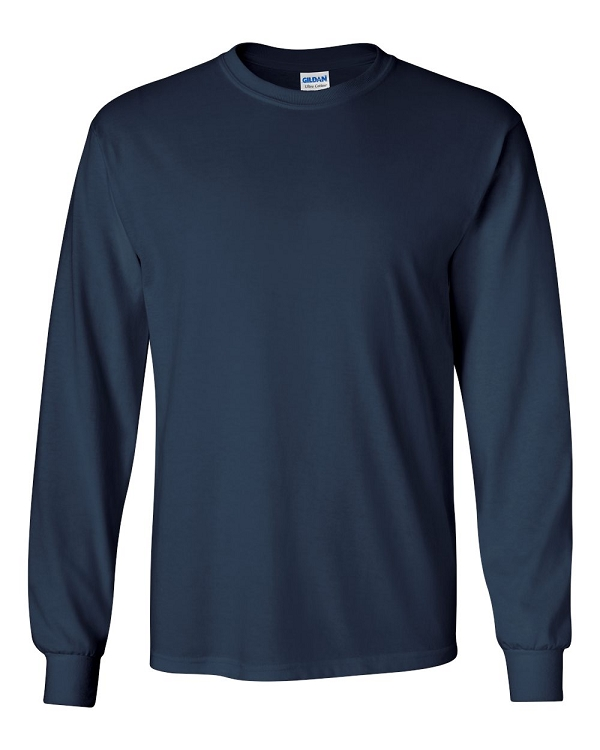 Gildan | Long Sleeve T-Shirt - Navy