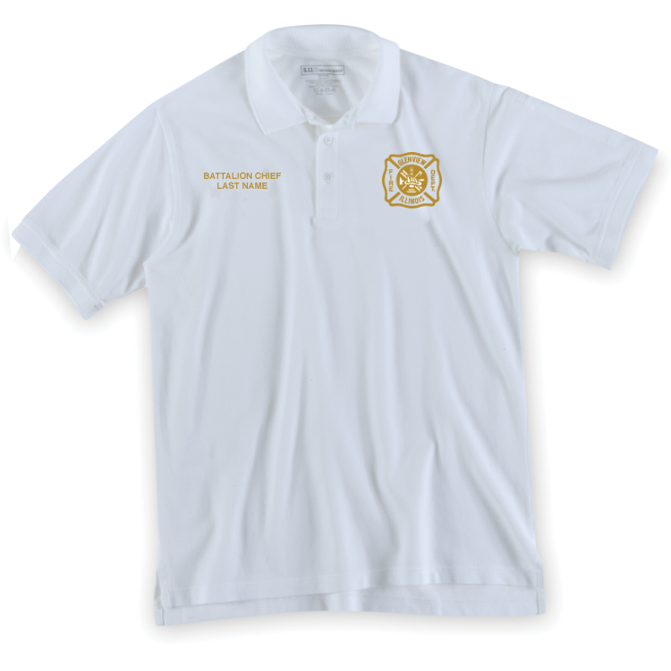 5.11 Professional S/S Polo - BATTALION CHIEF