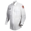 White L/S Poly/Cotton Horace Small Shirt - BATTALION CHIEF